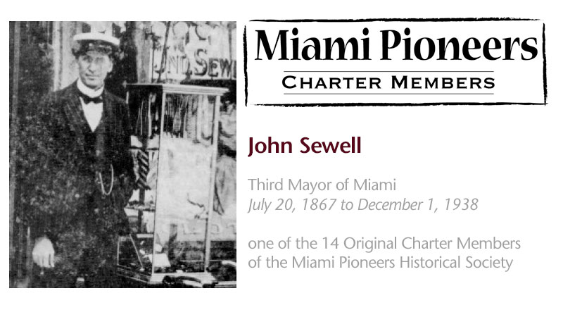MP/NOD Charter Members: John Sewell