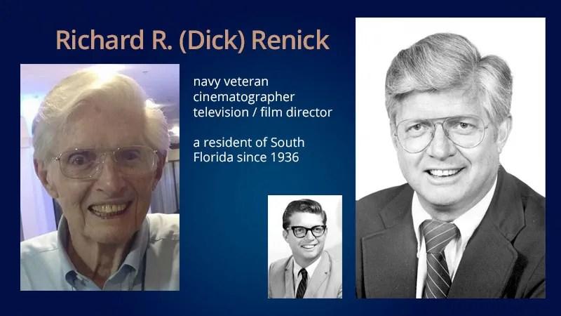 MP/NOD Monthly Meeting – Richard R. (Dick) Renick