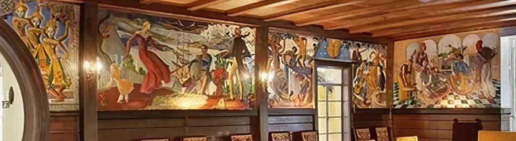 Java Head Mural Details