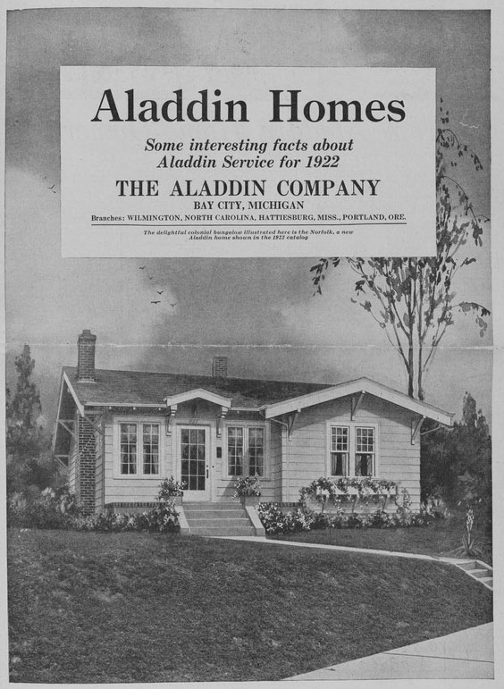 Aladdin Homes Catalog Cover