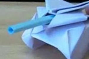 Jak zrobić czołg origami
