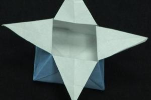 Jak zrobić pudełko gwiazdkę