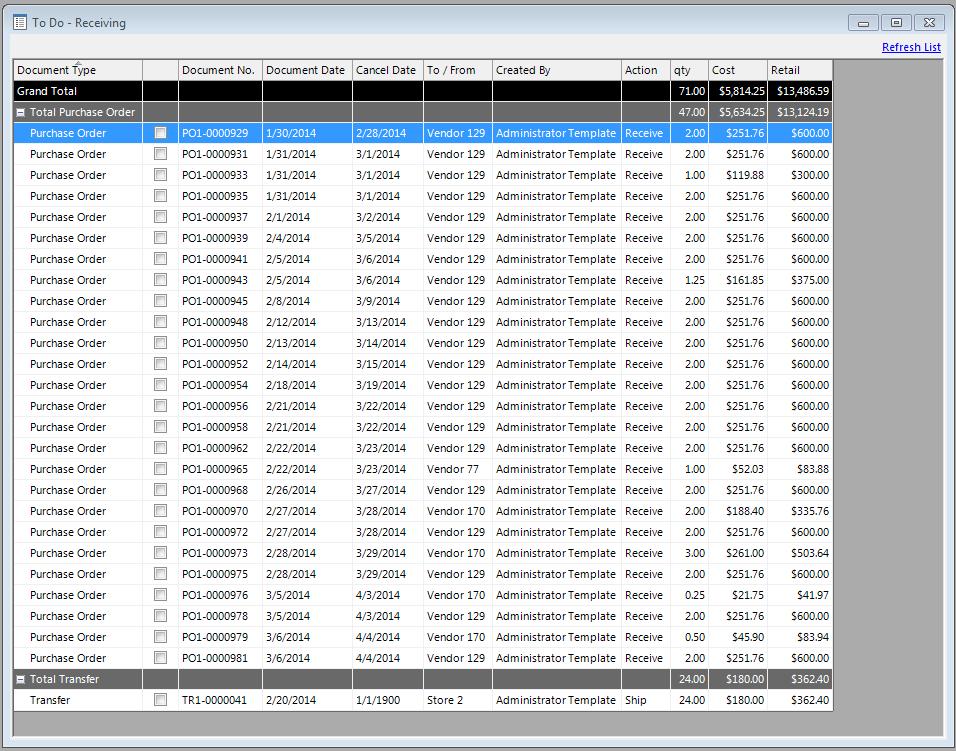 Liquor Store Inventory System