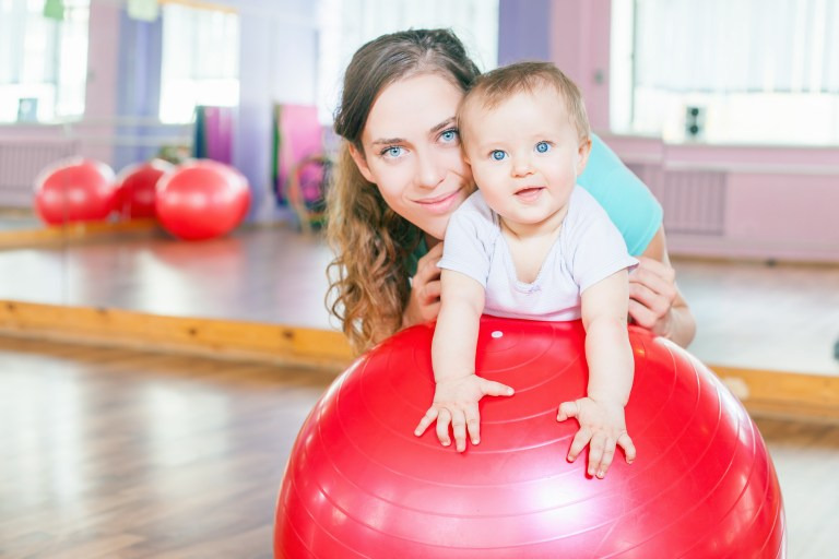 mum and baby exercise classes