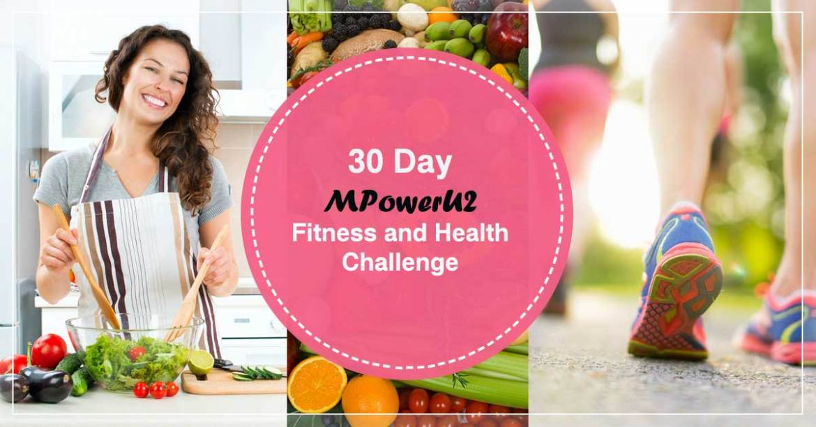 30 Day Fitness and Health Challenge