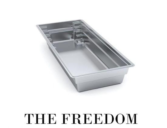 The Freedom Fiberglass Pool