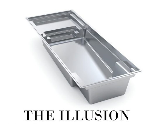 The Illusion Fiberglass Pool