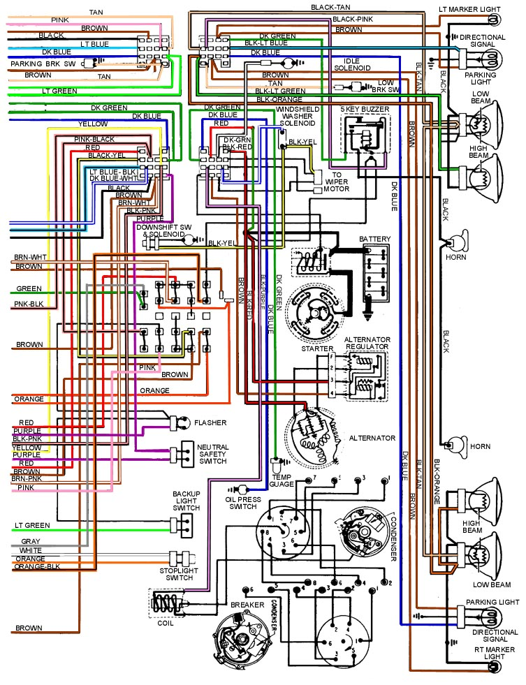1955 chevy headlight switch wiring diagram 2004 pontiac grand am monsoon specs