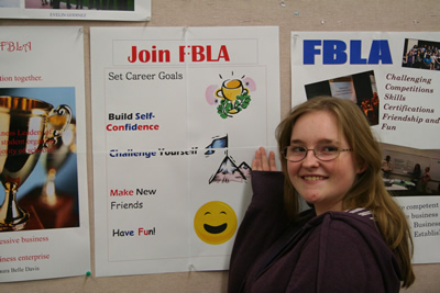 Mountain View  Posters Promoting FBLA