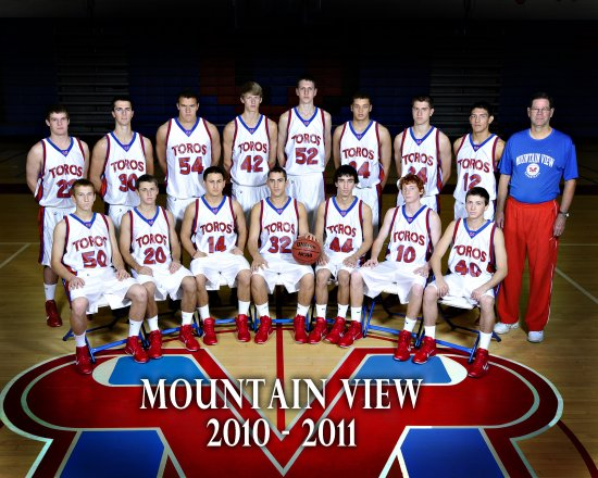 Mountain View  Varsity Roster 201011