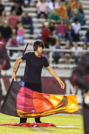 Red Mountain High School  Color Guard