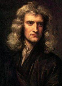 सर आयझॅक न्यूटन