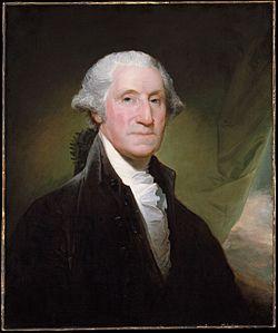 जॉर्ज वॉशिंग्टन हे अमेरिकेचे पहिले निवडलेले राष्ट्राध्यक्ष बनले.