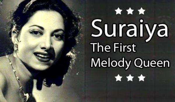 सुरैय्या जमाल शेख ऊर्फ 'सुरैय्या' – गायिका व अभिनेत्री