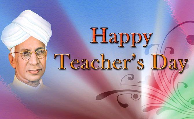 शिक्षक दिन - भारत.