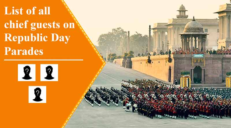 Chief Guest on Republic Day