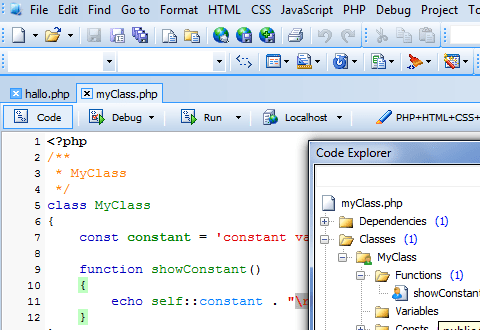Phpdesigner 8 Php Editor Amp Php Ide With Built In Html5