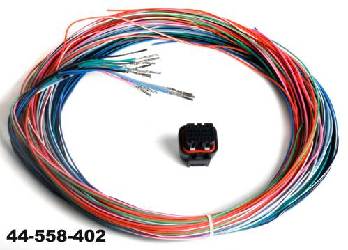 small resolution of holley j2b connector and harness