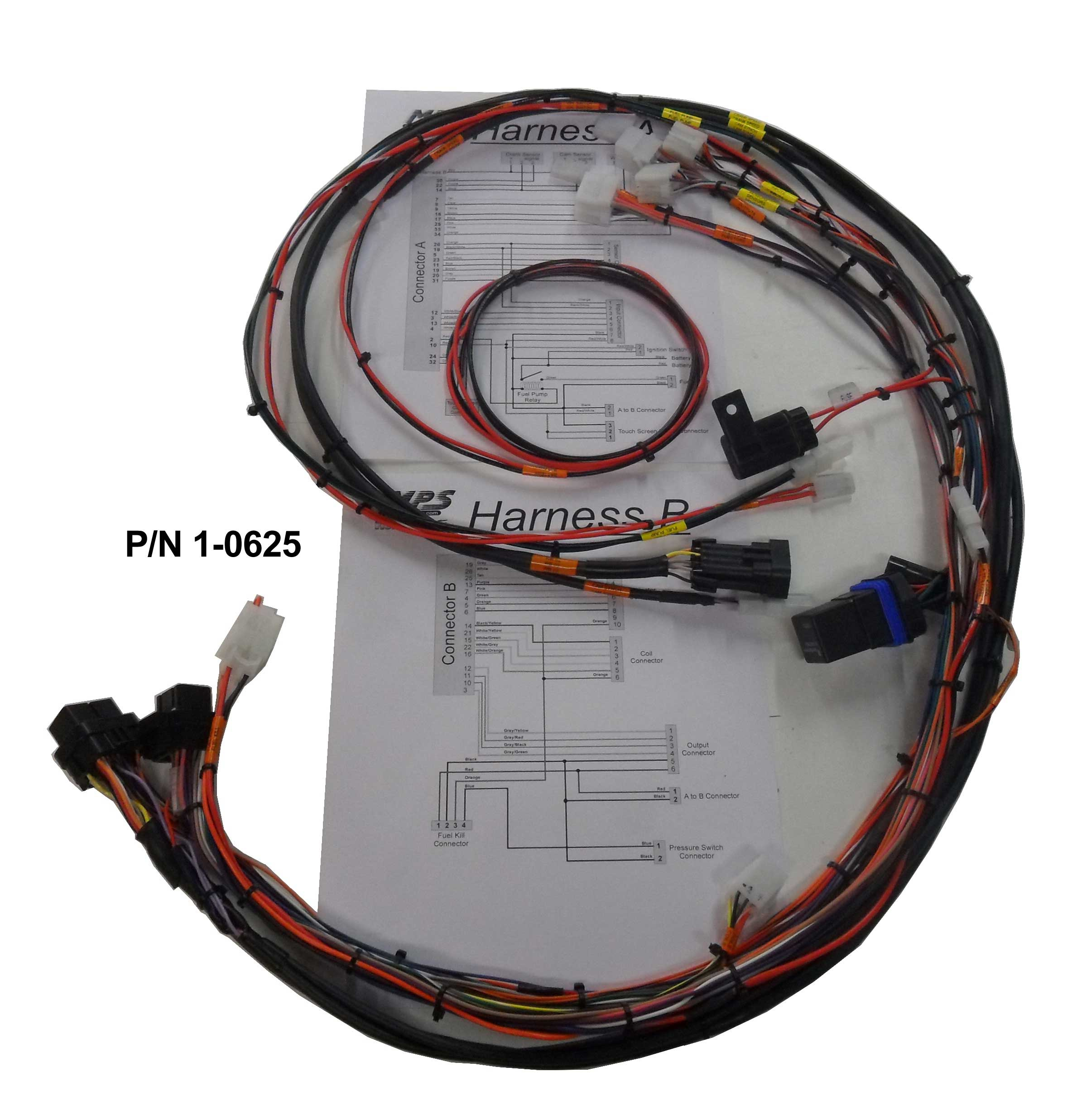 07 hayabusa wiring diagram perkins 12v alternator race harness | get free image about