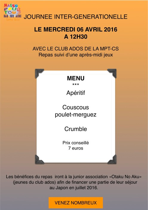 affiche repas(1)