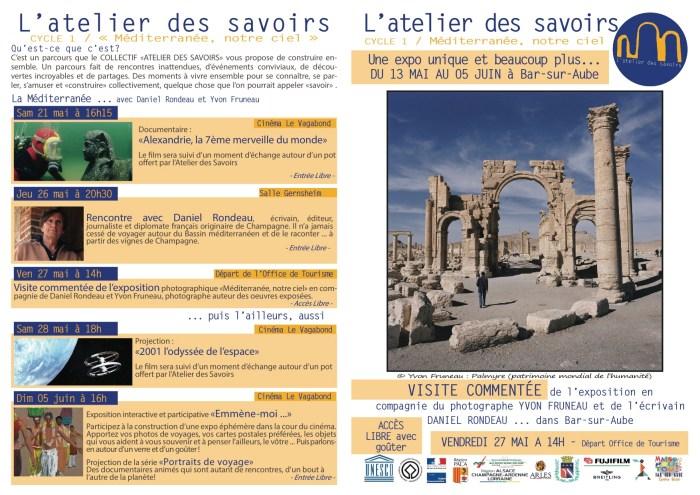 Brochure atelier des savoirs A4