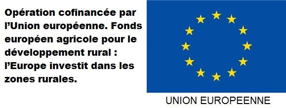 Emblème de l'Union Européenne sous-titrée