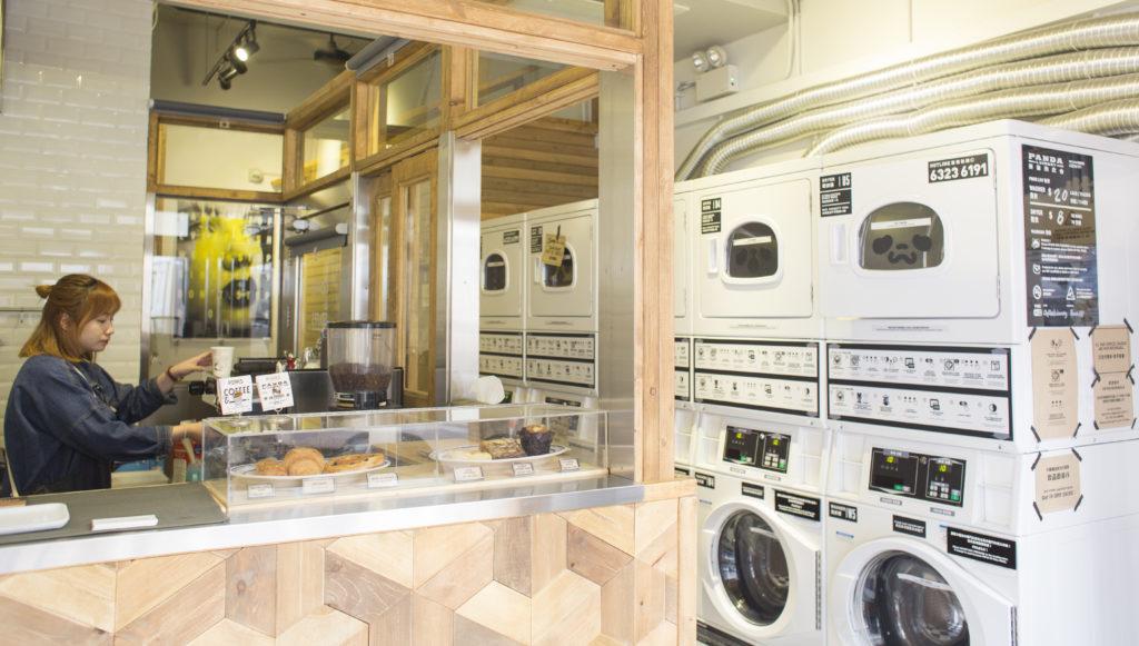 上環洗衣店內的咖啡時光 -設計- 明周文化