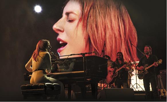 有機會憑《星夢情深》封后 Lady Gaga逼畢列谷巴唱live - 大話西洋 - 明周娛樂