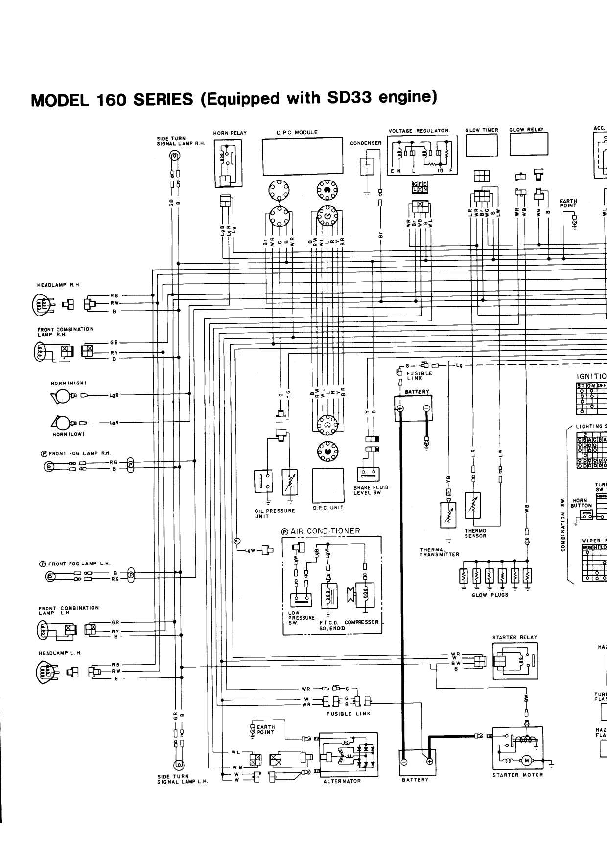 nissan patrol alternator wiring diagram sony xplod mq