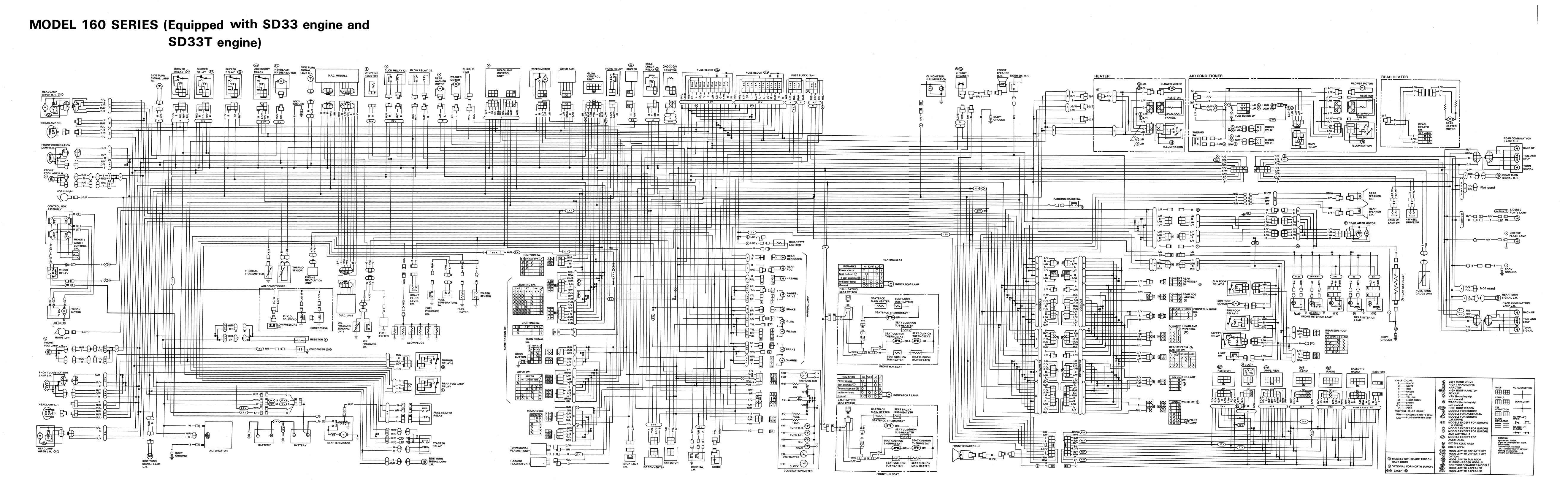 Nissan Patrol Gr Y60 Wiring Diagram Gq 204