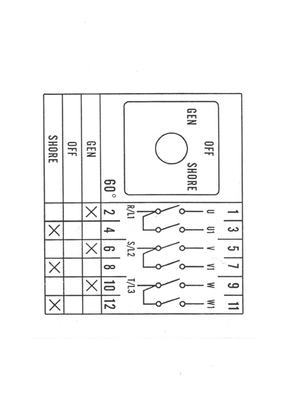 3 Pole Transfer Switch Wiring Diagram Universal Changeover Switch Manual Generator 3pdt Center