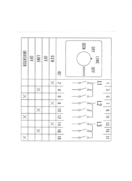 two battery wiring diagram 4 ohm dual voice coil universal changeover switch|manual generator|3pdt center off|rotary cam| rv transfer swith ...