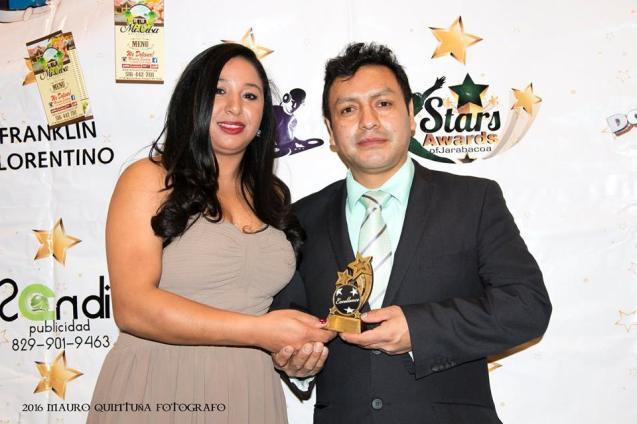 Reconocimiento Mejor Fotografo 2016 por FESTIVAL AWARDS HERENCIA LATINA 2016