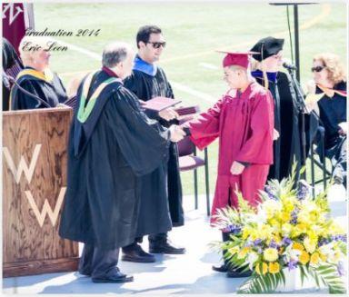 Graduacion de Erick