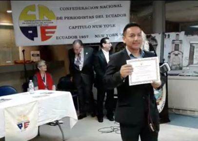 Décimo Quinto Seminario de Periodismo Moderno Eugenio de Santa Cruz y Espejo. PASADO PRESENTE Y FUTURO DEL PERIODISMO.