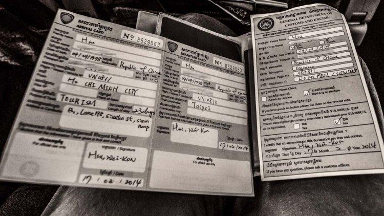柬埔寨落地签证