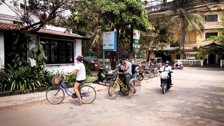 自行車遊暹粒