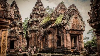 女王宫 Banteay Srei