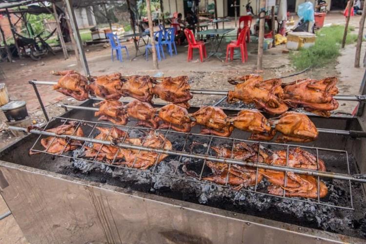 柬埔寨烤雞