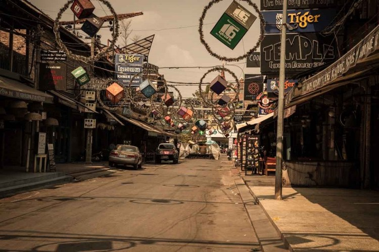 柬埔寨新冠肺炎特別報導 - 暹粒酒吧街