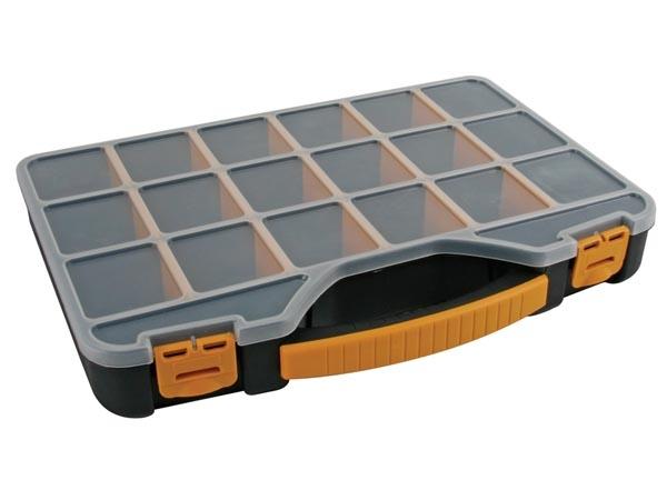 boite avec 18 compartiments 32 6 x 25 7 x 4 8 cm perel mr bricolage