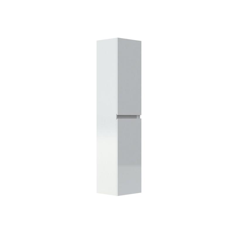 colonne de salle de bain livio 40 cm blanc brillant allibert mr bricolage