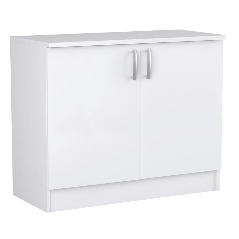 meuble de cuisine sous evier nova 85 x 100 x 60 cm mr bricolage