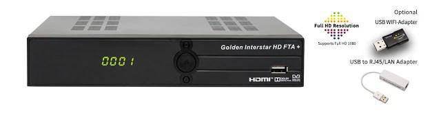 Golden Interstar HD FTA + Satellite Receiver Software, Tools