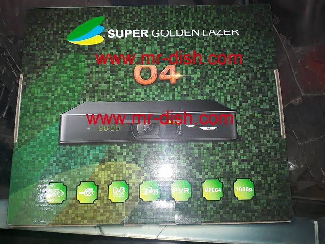 Help Desk Add Powervu Key in SUPER GOLDEN LAZER O4 HD