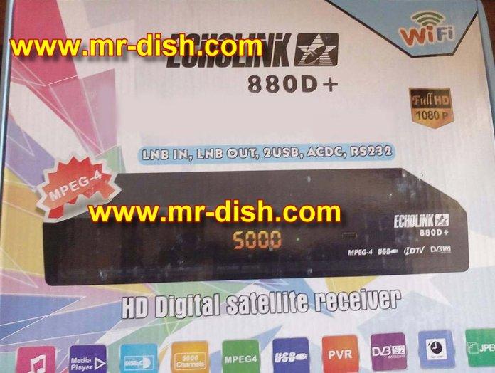 ECHOLINK 880D+ HD RECEIVER POWERVU SOFTWARE TEN SPORT OK