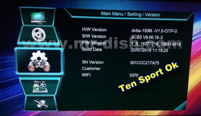 MULTIMEDIA 1506t SCB3 TEN SPORT OK NEW POWERVU SOFTWARE