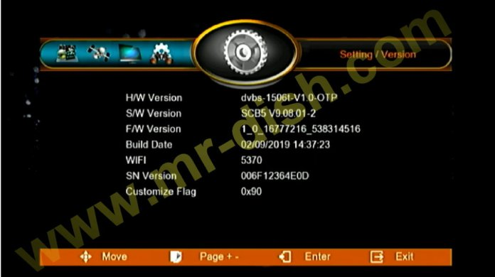 MULTIMEDIA 1506T, 1506F SCB5 POWERVU SOFTWARE UPDATE