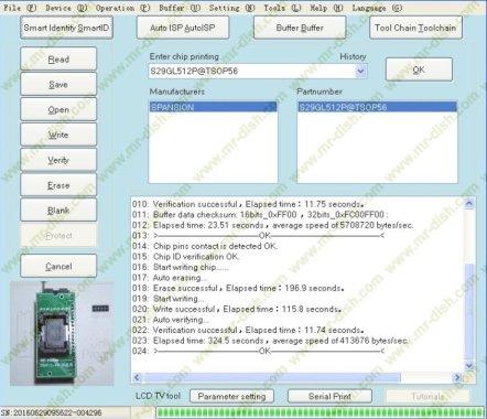 RT809H Programmer 512 mbit