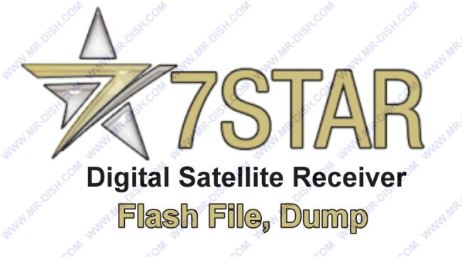 7Star Satellite Receiver Flash File Dump